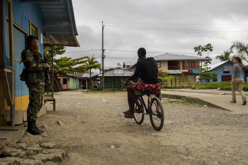Vigía del Fuerte es un municipio en el occidente de Antioquia que depende del río Atrato y está en límites con el municipio de Bojayá, Chocó. Foto: Esteban Vanegas