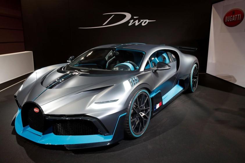 Bugatti Divo. FOTO REUTERS
