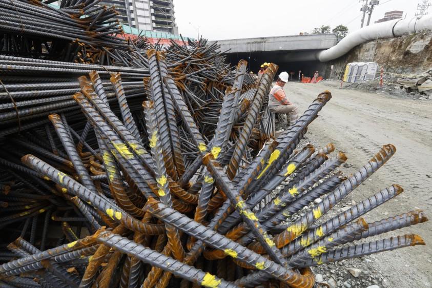 El tránsito por el nuevo túnel se habilitaría en febrero de 2019. FOTO MANUEL SALDARRIAGA