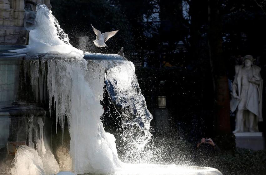 Otras cuatro personas han muerto en Eslovaquia, mientras que en Rumanía se han contabilizado otros dos fallecimientos debido al frío. FOTO REUTERS. País: Bélgica.