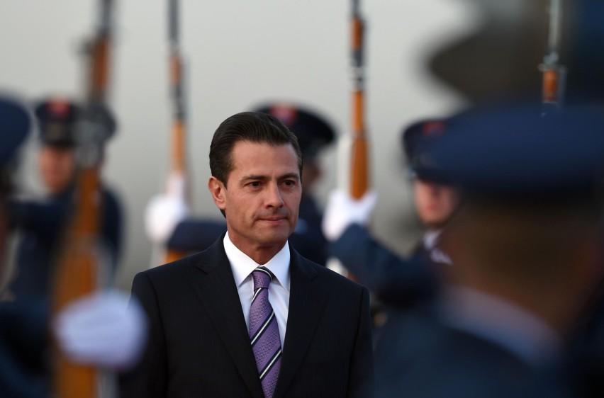 Enrique Peña Nieto, presidente de México. FOTO: AFP