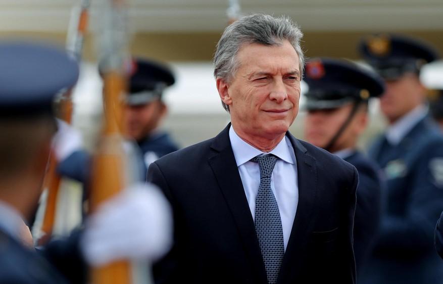 Mauricio Macri, presidente de Argentina. FOTO: EFE