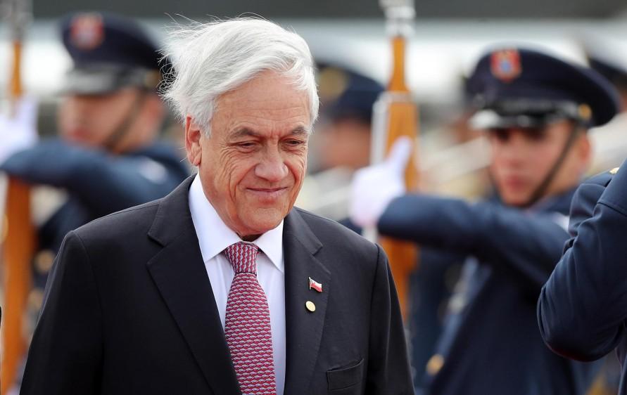 Sebastián Piñera, presidente de Chile. FOTO: EFE