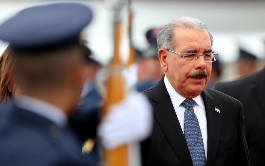 Danilo Medina, presidente de República Dominicana FOTO: EFE