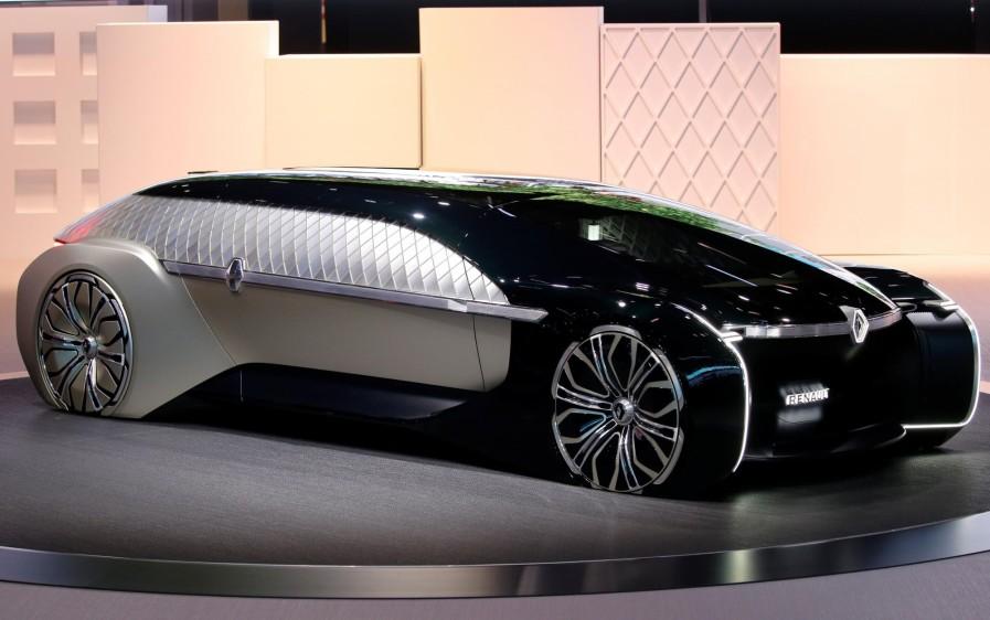 Renault EZ-ULTIMO, una propuesta de movilidad compartida prémium con la que quiere ofrecer una experiencia de viaje a la altura de un hotel, de un complejo turístico o de una aerolínea. FOTO REUTERS