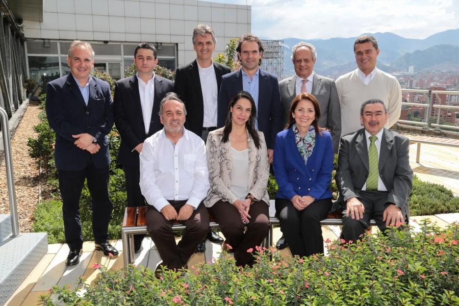 Ellos tienen la visión de las grandes empresas en Antioquia
