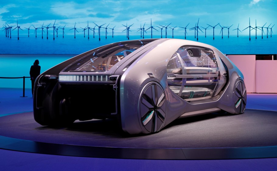 Renault EZ-GO. FOTO REUTERS