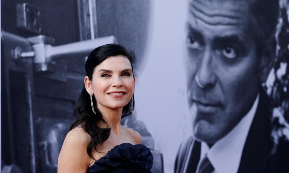 La actriz Julianna Margulies estuvo presente. La alfombra roja se verá este viernes 8 de junio a las 8 de la noche por el canal E! Foto Reuters