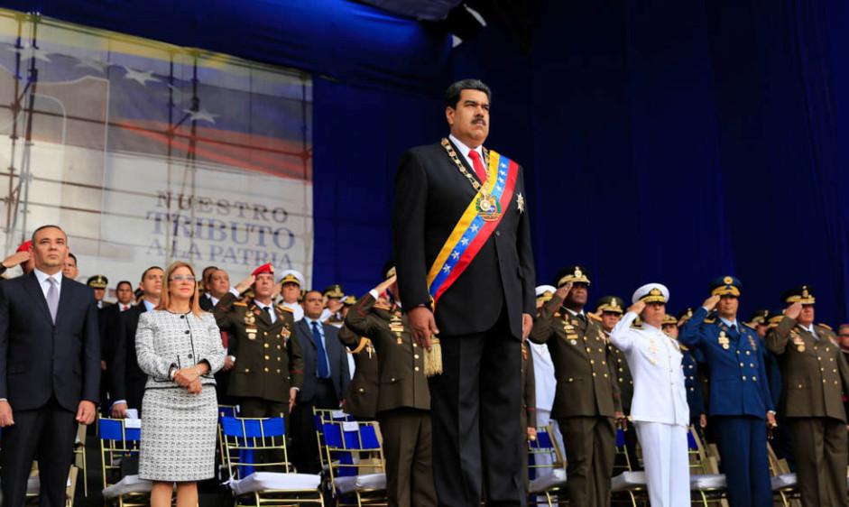 En imágenes: el atentado a Maduro