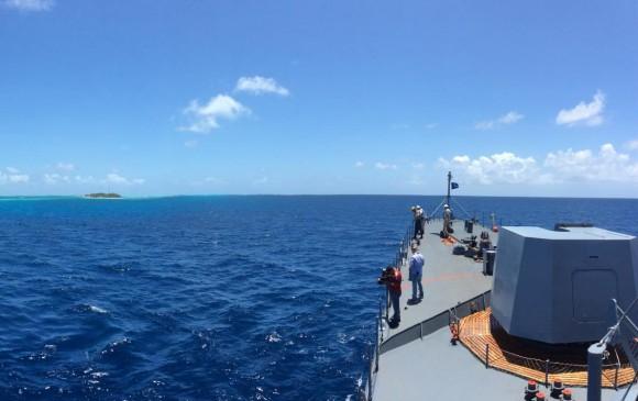 Mar Caribe territorial. FOTO COLPRENSA