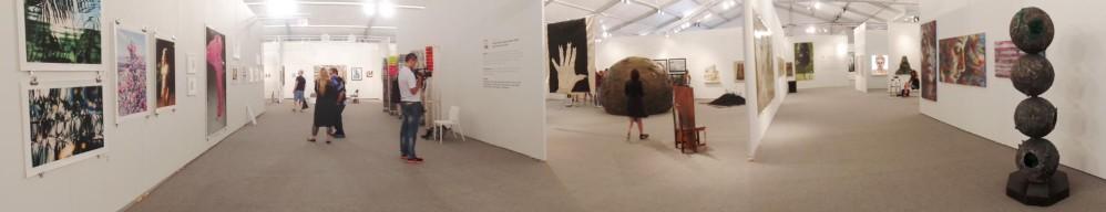 11 artistas Colombianos exhibieron su obra durante la Miami Art Week, en un montaje realizado por Timebag en la feria Contemporary-X. Foto: Carol Jaramillo