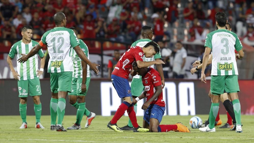 La alegría fue roja mientras los verdes agudizan su crisis FOTO: MANUEL SALDARRIAGA