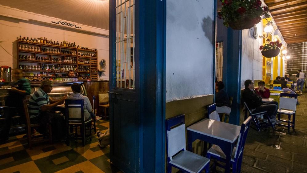 Una gran diversidad de restaurantes y cafés son la magia para departir en el parque. Foto: Julio César Herrera