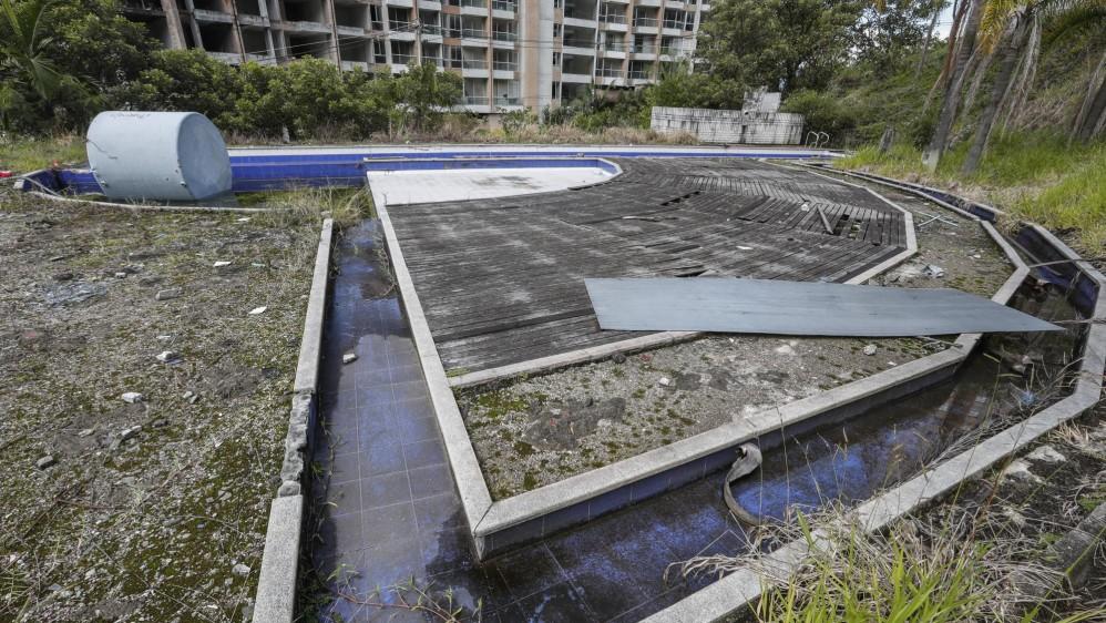 Cada propietario tendría un porcentaje en este terreno incluyendo la alcaldía que adquirió un 21% como pago por la demolición. Foto Robinson Sáenz