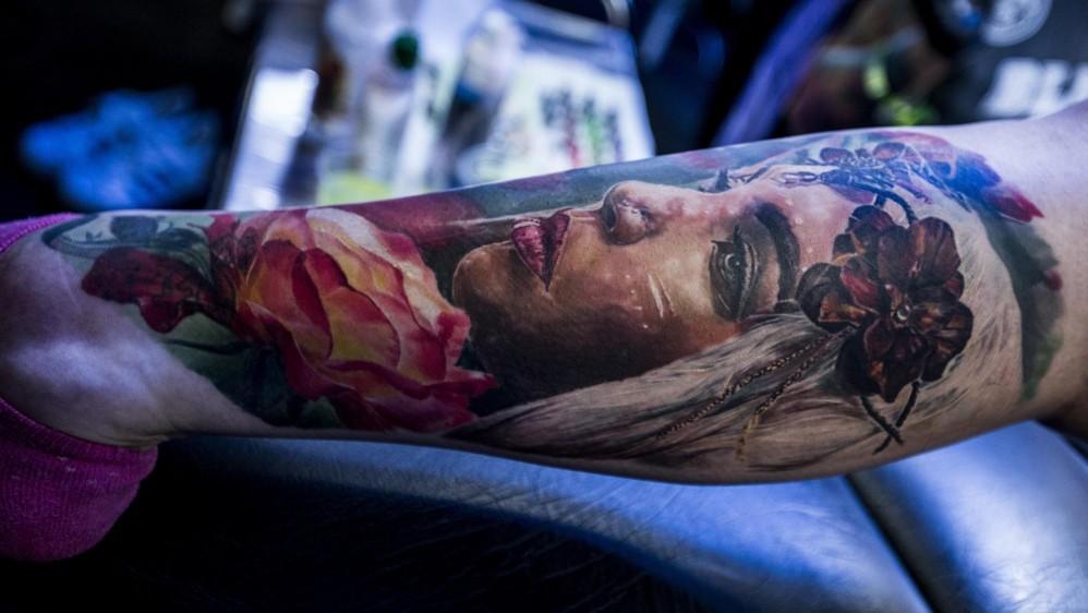 Hubo talleres de técnicas de tatuajes avanzadas. Foto: JAIME PÉREZ MUNEVAR