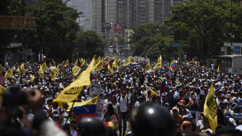 """Maduró llamó ayer a sus detractores a la """"sensatez"""" y al cese de la violencia de los supuestos grupos """"mercenarios"""" que intentan promover el caos en su país. FOTO AFP"""