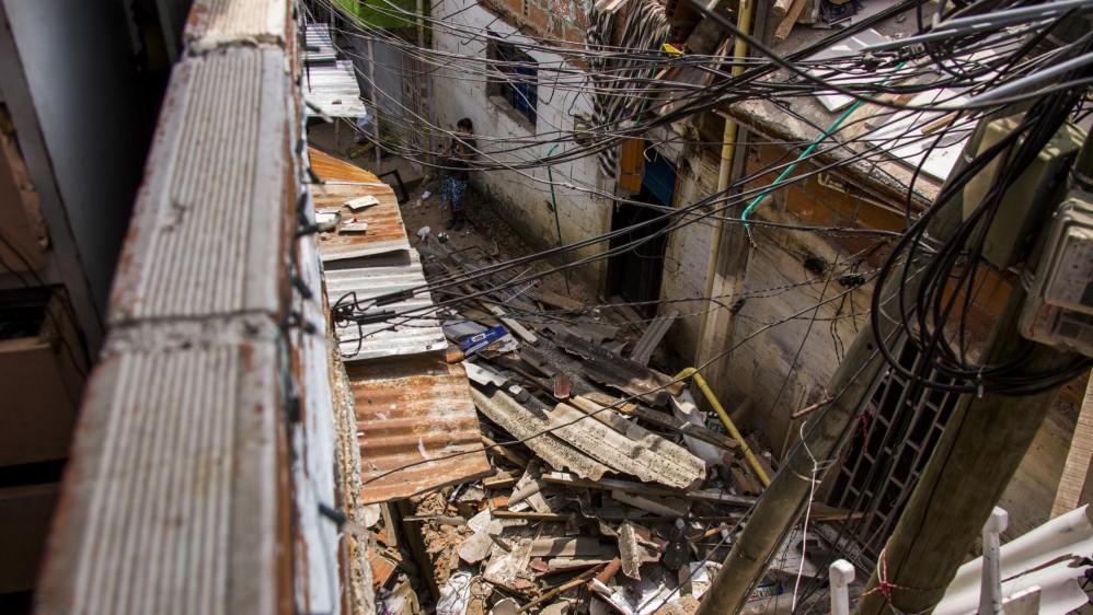 La Oficina de Gestión de Riesgo entregará ayudas humanitarias a los afectados. Foto: Carlos Velásquez