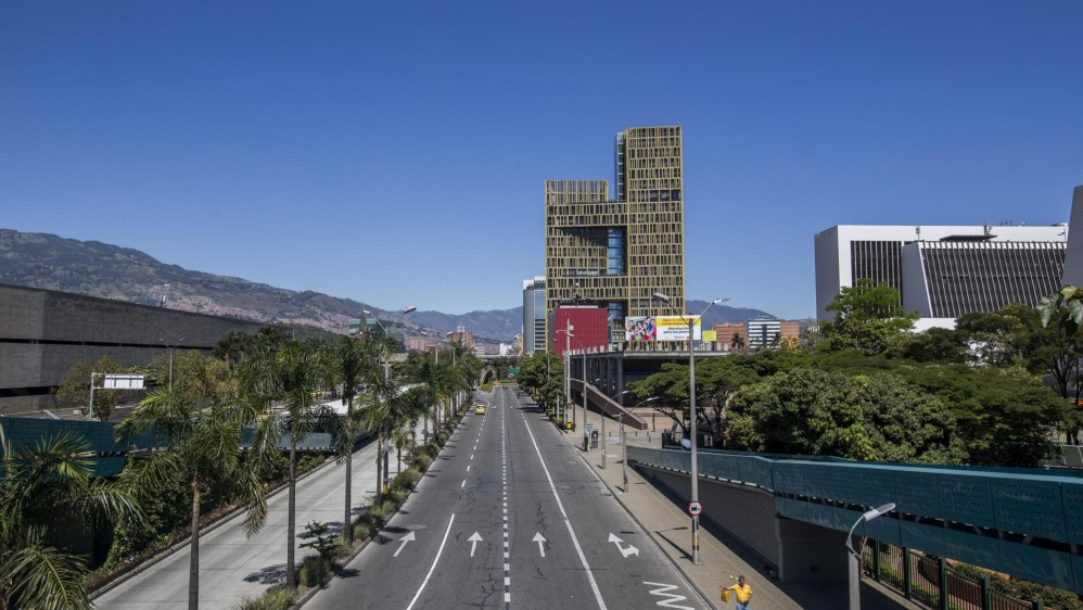 Avenida del Ferrocarril. Foto: Santiago Mesa.