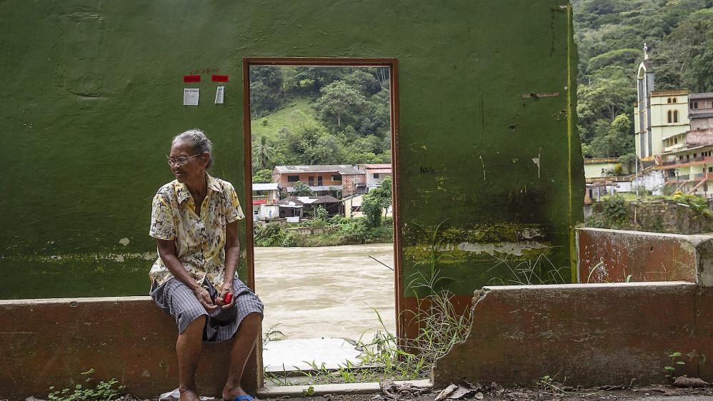 Damnificados por la emergencia del 12 de mayo de 2018 de la central hidroeléctrica Hidroituango de EPM inician el retorno a sus viviendas ubicadas en las riberas del río Cauca en el corregimiento Puerto Valdivia de Valdivia. Foto: Esteban Vanegas.