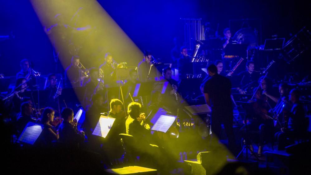 Este tributo a una de las mejores bandas de thrash metal de todos los tiempos fue organizado por la Orquesta Filarmónica de Medellín. FOTO: CARLOS VELÁSQUEZ