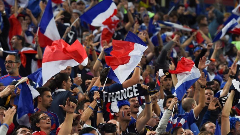 Con un solitario gol de Samuel Umtiti los franceses se metieron en la final de la Copa del Mundo y dejaron por fuera a la sorprendente Bélgica, que ahora disputará el partido por el tercer puesto. Foto : AFP