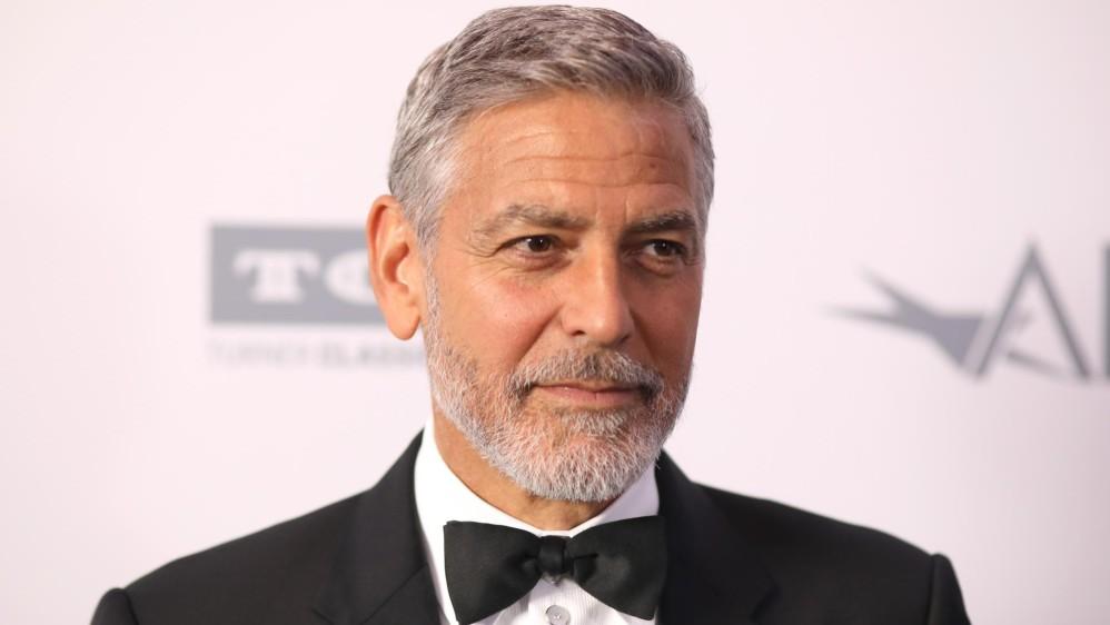 El actor George Clooney fue homenajeado por el American Film Institute. Foto cortesía de E! Entertainment Latin America tomada por Randall Michelson.