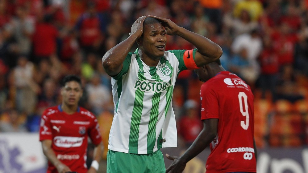 Alexis Enríquez a sus 35 años sigue siendo un referente en la saga defensiva del cuadro verde. FOTO: MANUEL SALDARRIAGA