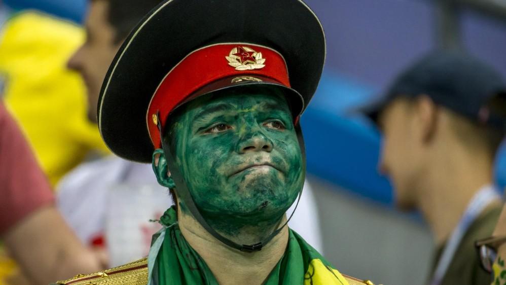 Los rostros de la eliminación en Rusia. FOTO JUAN ANTONIO SÁNCHEZ
