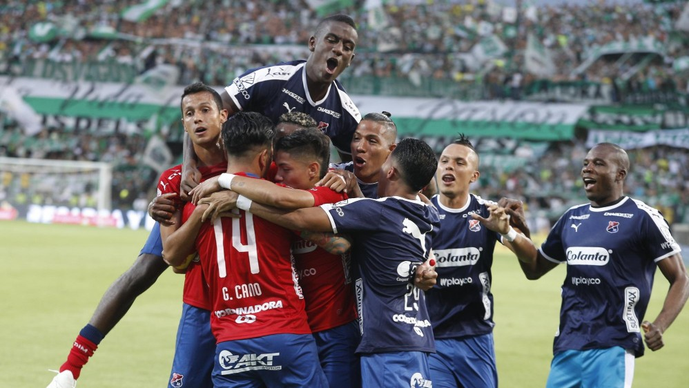 Con el triunfo Medellín regreso al grupo de los ocho equipos clasificados. FOTO: MANUEL SALDARRIAGA