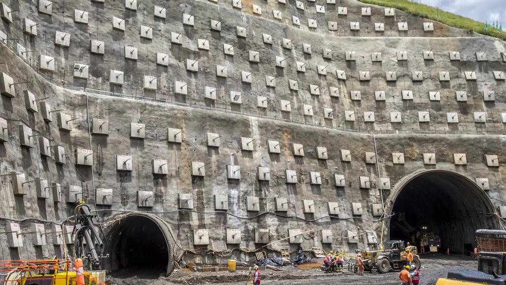 Este túnel conectará a Urabá con el centro y el eje cafetero del país. FOTO JUAN ANTONIO SÁNCHEZ OCAMPO