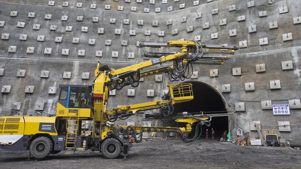 Esta obra es el proyecto de infraestructura vial más importante en la historia de Antioquia. FOTO JUAN ANTONIO SÁNCHEZ OCAMPO
