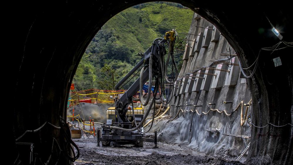 El túnel del Toyo unirá las concesión de cuarta generación (4G), Mar 1 y Mar 2. FOTO JUAN ANTONIO SÁNCHEZ OCAMPO
