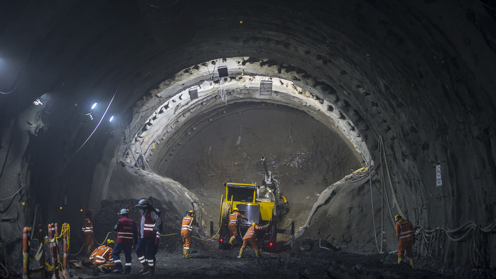 En este momento trabajan 741 personas en el proyecto su mayoría de la zona de influencia del túnel. FOTO JUAN ANTONIO SÁNCHEZ OCAMPO