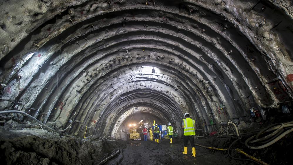 Este sistema vial comprende la construcción de 18 túneles en total. FOTO JUAN ANTONIO SÁNCHEZ OCAMPO
