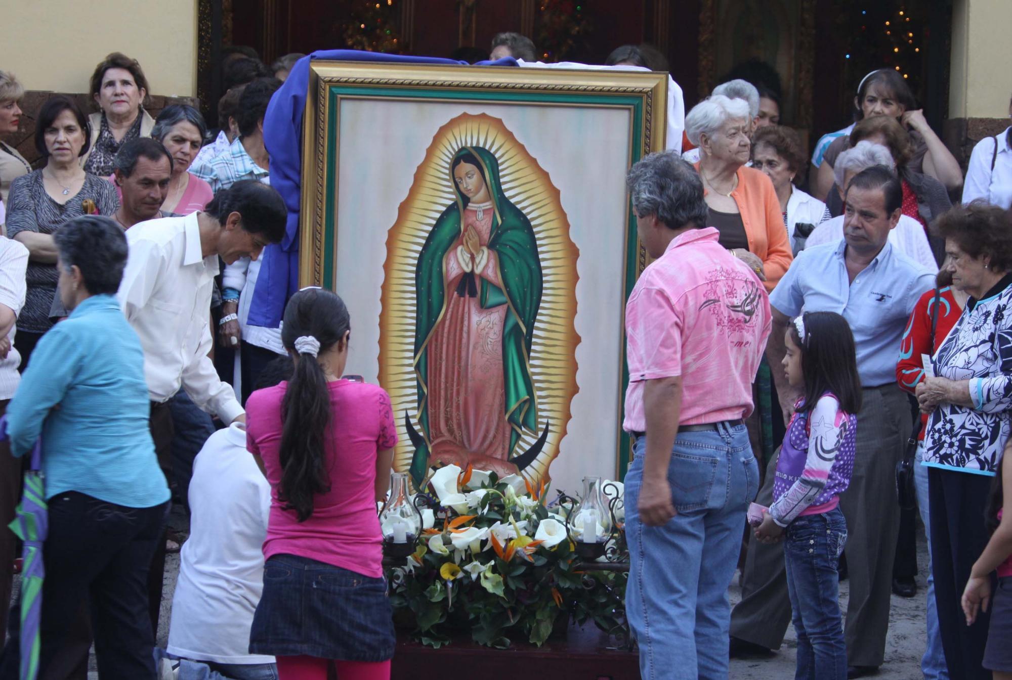 Virgen de Guadalupe se aparece en Nobsa, Boyacá