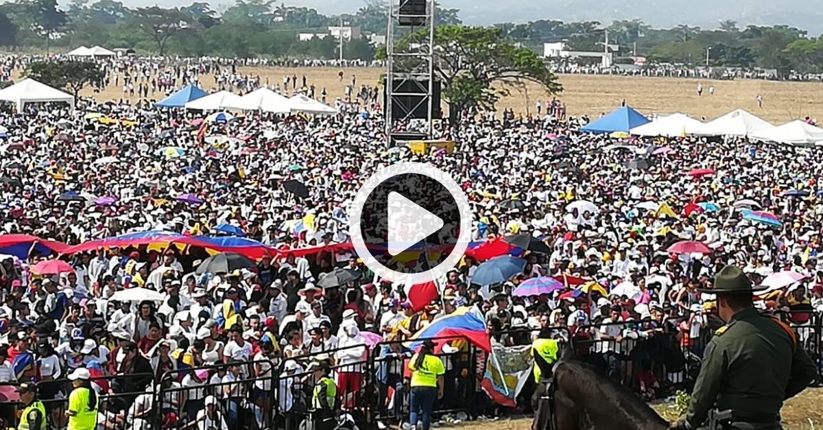 Venezuela Aid Live en vivo desde la frontera de Colombia
