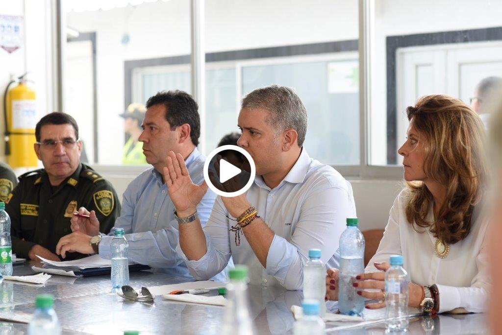 Presidente Duque habla desde la frontera con Venezuela