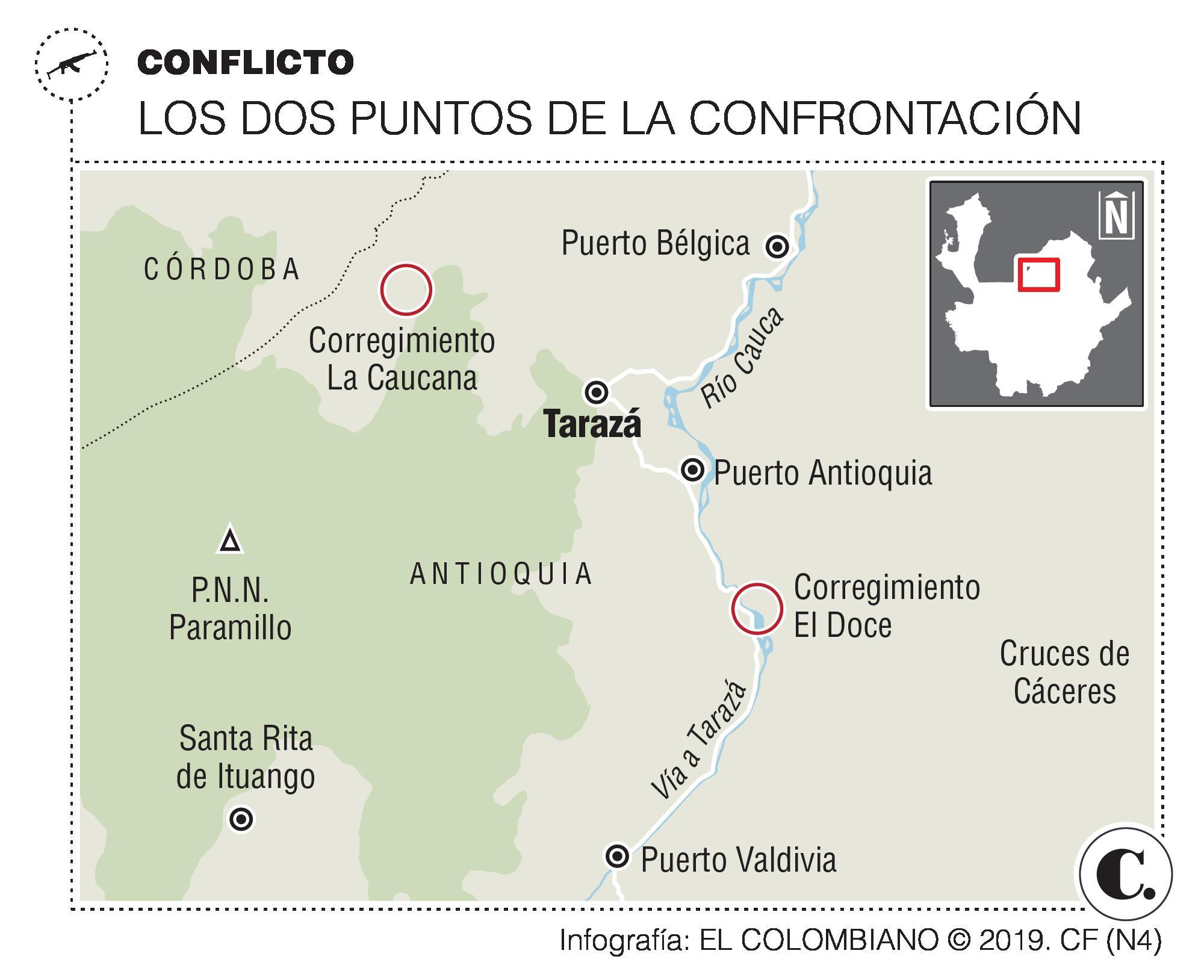 Tarazá ya no aguanta más la violencia y pide la paz